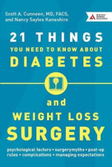 Omslag - 21 Things You Need to Know About Diabetes and Weight-Loss Surgery