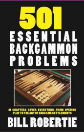501 Backgammon Problems av Bill Robertie (Heftet)