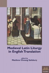 Omslag - Medieval Latin Liturgy in English Translation