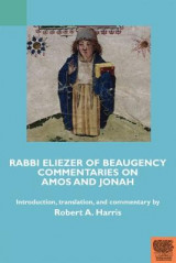 Omslag - Rabbi Eliezer of Beaugency, Commentaries on Amos and Jonah (With Selections from Isaiah and Ezekiel)