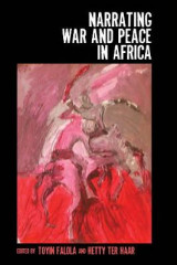 Omslag - Narrating War and Peace in Africa