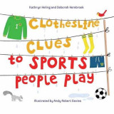 Omslag - Clothesline Clues to Sports People Play