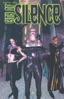 City of Silence av Warren Ellis (Heftet)