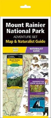Mt. Rainier National Park Adventure Set av National Geographic Maps og Waterford Press (Eske)