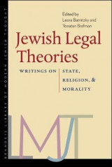 Omslag - Jewish Legal Theories