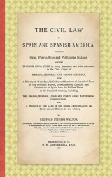 Omslag - The Civil Law in Spain and Spanish-America