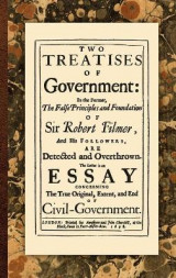 Omslag - Two Treatises of Government