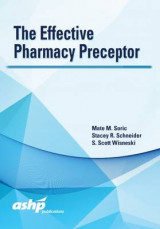 Omslag - The Effective Pharmacy Preceptor