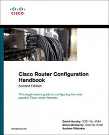 Cisco Router Configuration Handbook av David Hucaby, Stephen McQuerry og Andrew Whitaker (Heftet)
