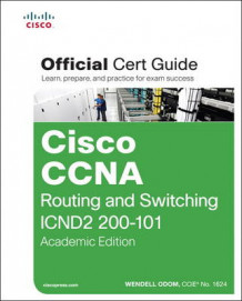 Cisco CCNA Routing and Switching ICND2 200-101 Official Cert Guide av Wendell Odom (Blandet mediaprodukt)