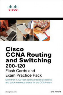 CCNA Routing and Switching 200-120 Flash Cards and Exam Practice Pack av Eric Rivard (Blandet mediaprodukt)