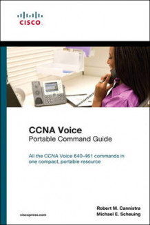 CCNA Voice Portable Command Guide av Robert M. Cannistra og Michael E. Scheuing (Heftet)
