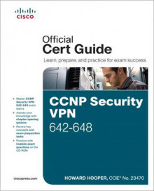 CCNP Security Vpn 642-648 Official Cert Guide av Howard Hooper (Blandet mediaprodukt)