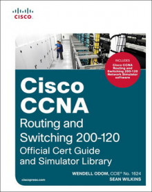 Cisco CCNA Routing and Switching 200-120 Official Cert Guide and Simulator Library av Wendell Odom og Sean Wilkins (Blandet mediaprodukt)