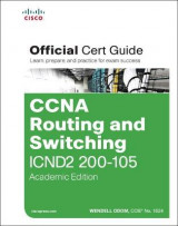 Omslag - CCNA Routing and Switching ICND2 200-105 Official Cert Guide, Academic Edition