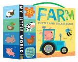 Omslag - Farm Puzzle and Sticker Book Set