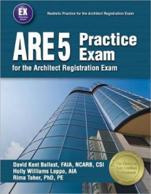 Ppi Are 5 Practice Exam for the Architect Registration Exam, 1st Edition (Paperback) - Comprehensive Practice Exam for the Ncarb 5.0 Exam av David Kent Ballast, Holly Williams Leppo og Rima Taher (Heftet)