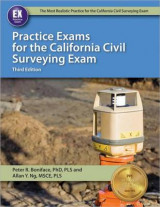 Omslag - Practice Exams for the California Civil Surveying Exam