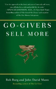 Go-givers Sell More av Bob Burg og John David Mann (Innbundet)