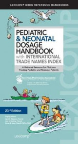 Omslag - Pediatric & Neonatal Dosage Handbook with International Trade Names Index