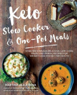 Omslag - Keto Slow Cooker & One-Pot Meals