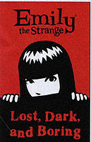 Emily the Strange Volume 1: Lost, Dark, and Bored av Cosmic Debris (Heftet)