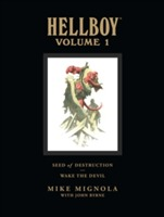 Hellboy Library Volume 1: Seed Of Destruction And Wake The Devil av Mike Mignola (Innbundet)
