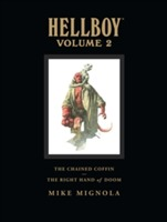 Omslag - Hellboy Library Volume 2: The Chained Coffin and the Right Hand of Doom