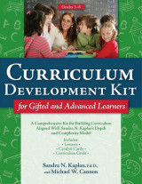 Omslag - Curriculum Development Kit for Gifted and Advanced Learners