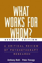 What Works for Whom? av Peter Fonagy og Anthony Roth (Heftet)