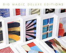 Big Magic (Deluxe) av Elizabeth Gilbert (Innbundet)