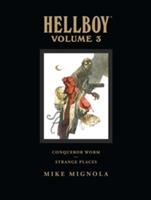 Omslag - Hellboy Library Volume 3: Conqueror Worm And Strange Places