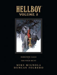 Hellboy Library Edition Volume 5: Darkness Calls And The Wild Hunt av Mike Mignola (Innbundet)