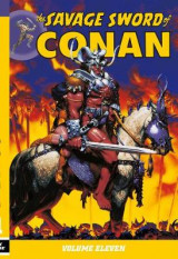 Omslag - The Savage Sword of Conan: Volume 11