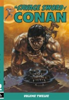 The Savage Sword of Conan: Volume 12 av Jim Owsley, Larry Yakata og Don Kraar (Heftet)