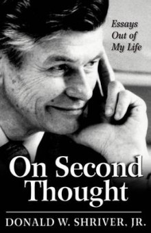 On Second Thought av Donald W. Shriver (Heftet)