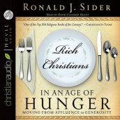 Rich Christians in an Age of Hunger av Ron Sider (Lydbok-CD)