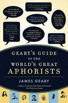 Geary's Guide to the World's Great Aphorists av James Geary (Innbundet)