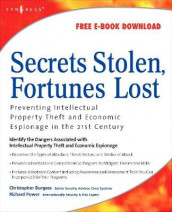 Secrets Stolen, Fortunes Lost av Christopher Burgess og Richard Power (Heftet)