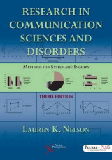 Omslag - Research in Communication Sciences and Disorders