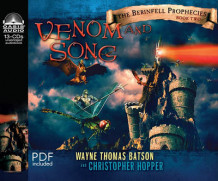 Venom and Song av Wayne Thomas Batson og Christopher Hopper (Lydbok-CD)