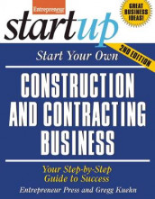 Start Your Own Construction and Contracting Business av Entrepreneur Press (Heftet)