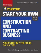 Omslag - Start Your Own Construction and Contracting Business
