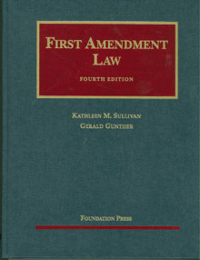 First Amendment Law av Kathleen M Sullivan og Gerald Gunther (Innbundet)