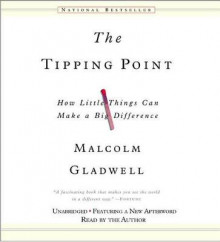 The Tipping Point av Malcolm Gladwell (Lydbok-CD)