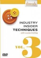 Threads Industry Insider Techniques, Vol. 3 av Louise Cutting (DVD)
