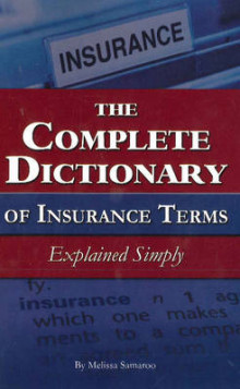 The Complete Dictionary of Insurance Terms av Melissa Samaroo (Heftet)