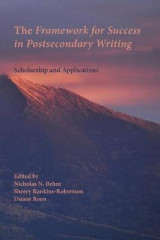 Omslag - The Framework for Success in Postsecondary Writing