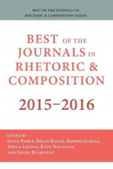 Omslag - Best of the Journals in Rhetoric and Composition 2015-2016