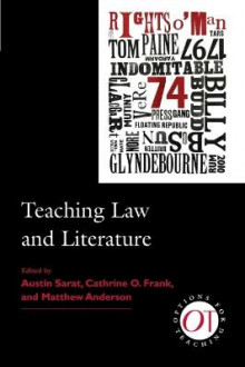 Teaching Law and Literature av Cathrine O. Frank og Matthew Anderson (Innbundet)
